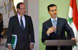 Bachar al-Assad rappelle à la France qu'il avait prévenu des conséquences du soutien de Paris aux terroristes