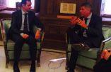 Filip Dewinter reçu par le président Bachar el-Assad