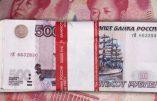 """La guerre est déclarée contre la domination des USA par le dollar: le yuan et le rouble lancent leur réseau """"Swift"""""""