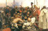 Quand les Cosaques écrivaient au sultan ottoman
