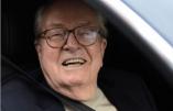 Jean-Marie Le Pen, fort de sa victoire juridique, a l'intention d'enregistrer ce midi son «Journal de bord» au siège du FN