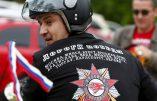 """""""les Loups de la nuit"""", partis de Moscou, ont fêté les 70 ans de la Victoire à Berlin"""