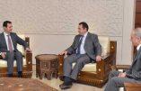 Le député Jean-Frédéric Poisson reçu par le président Bachar el-Assad afin d'évoquer la situation en Syrie et la prolifération du terrorisme