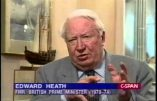 Pédophilie – L'ancien Premier ministre britannique Edward Heath est fréquemment cité comme violeur d'enfants