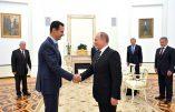 Pied de nez de Bachar-el-Assad et de Vladimir Poutine aux oligarques occidentaux
