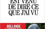 """Philippe de Villiers:  """"j'ai vu derrière les mensonges se profiler la haute trahison."""" … (transcription + audio + interview)"""