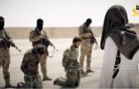 Surenchère entre l'Etat Islamique et le Front al-Nosra qui diffuse les images de l'exécution de 42 soldats syriens