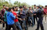 Emeutes à Calais – Deuxième nuit d'affrontements entre immigrés et policiers à Calais – 16 CRS blessés