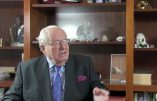 Jean-Marie Le Pen : «L'abaissement des règles morales est une constante des sociétés décadentes»