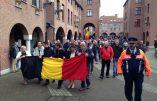 Mouscron – Les habitants manifestent contre l'arrivée de 600 immigrés