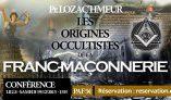 19 décembre à Lille : conférence sur les origines occultistes de la franc-maçonnerie