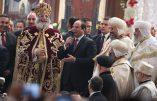 Le président musulman d'Égypte, al-Sissi, souhaite un joyeux Noël aux Coptes…