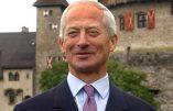 """Permettre à des homosexuels d'adopter un enfant, """"c'est irresponsable"""", déclare le prince Hans-Adam II de Liechtenstein"""