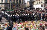 Bruxelles : près de 500 nationalistes radicaux se rassemblent en réaction aux attentats