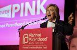 Hillary Clinton déclare que les enfants n'ont pas de droits tant qu'ils ne sont pas nés