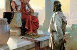 Cours de catéchisme : Jésus devant Ponce Pilate