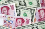 Le yuan/or contre le dollar/papier