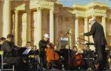 Palmyre fête sa libération en musique avec l'orchestre symphonique de Saint-Petersbourg