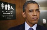Obama force les établissements publics à se munir de toilettes transgenres
