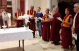A Ravenne, concélébration catho-bouddhiste