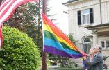 L'ambassade des USA au Luxembourg hisse le drapeau LGBT