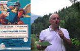 Catholicisme social ? Damien Viguier vous convie le 10 septembre en Haute Savoie