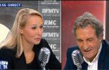 Marion Maréchal-Le Pen répond à Jean-Jacques Bourdin pour RMC & BFMTV