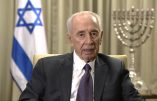 Shimon Peres, artisan de la paix ? Analyse de Jean-Michel Vernochet et Youssef Hindi