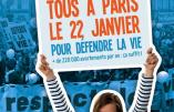 Civitas et l'ACIM seront à la Marche pour la Vie avec la Coalition pour la Vie et la Famille