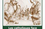 """5 décembre 2016 à Paris – Conférence """"Les catholiques face au KulturKampf"""""""