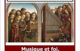 """28 novembre 2016 à Paris – conférence """"Musique et Foi"""""""