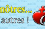 """Un nouveau site internet intitulé """"Pour les nôtres"""""""