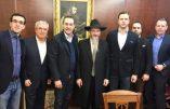 Le chef du FPÖ reçu par le grand rabbin russe – Les rabbins autrichiens crient au scandale