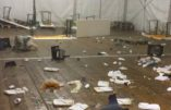 La dévastation après la révolte des migrants: « Ils ont cannibalisé la structure»