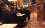 Marine Le Pen a pris un café à la Trump Tower… sans pouvoir approcher Donald Trump