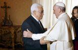 Rencontre entre Abbas et le pape: inauguration de l'ambassade de Palestine au Vatican