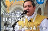 L'abbé Xavier Beauvais vous attend à la Fête du Pays Réel le 11 mars 2017 à Rungis