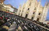 Fin du ramadan: cela ressemble à la Mecque mais cela se passe en Italie