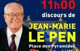 1er mai 2017 à Paris avec Jean-Marie Le Pen