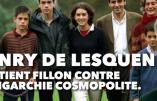 Henri de Lesquen soutient Fillon: un secours dont ce dernier se serait certainement bien passé!