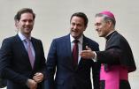"""Le Vatican reçoit officiellement le 1er ministre homosexuel du Luxembourg et son """"compagnon"""""""