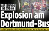 L'attentat contre l'équipe de Dortmund revendiqué par une lettre islamiste