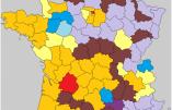 L'évolution 2012-2017 par départements