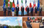 Le G7 en Sicileréaffirme le droit des pays à fermer leurs frontières