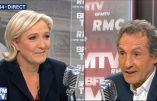 Marine Le Pen face à Bourdin: Des explications qui complètent avantageusement celles soulevées par le débat de l'entre-deux tours.