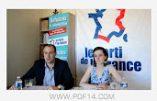 Législatives 2017 – Des candidats du Parti de la France dans le Calvados