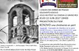 """22 juin 2017 à Paris : projection du film """"Kosovo, une chrétienté en péril"""""""