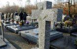 Tombes chrétiennes profanées à Paroy et Tarcenay