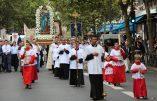 Procession du 15 août 2017 à Paris (reportage)