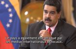 Nicolas Maduro, le président du Vénézuéla, exprime son point-de-vue : la CIA encore à l'œuvre ?